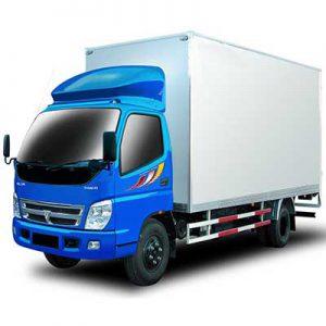 xe tải chở mút